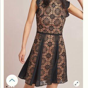 Monique Lhuiller black lace dress